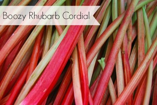 rhubarb ideas