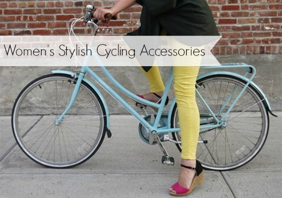 stylish cycling accessories for ladies