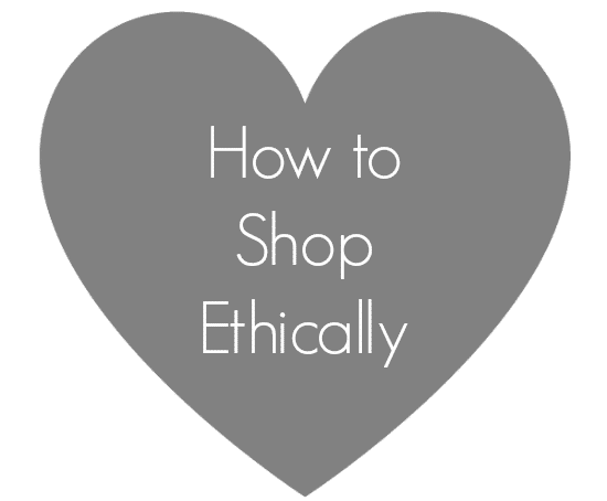 how to shop ethically