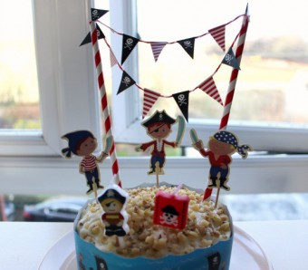 pirate cake decoration