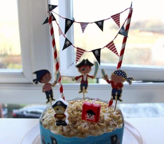 pirate cake decoration