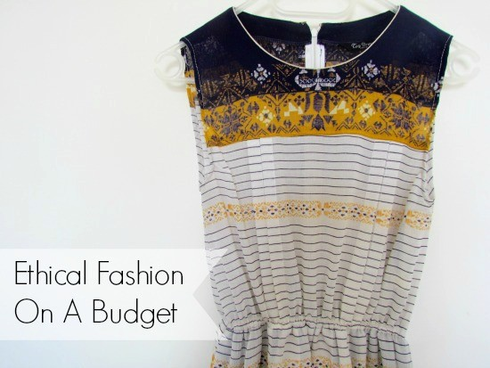 ethical clothing on a budget