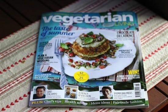 magazine for vegetarians