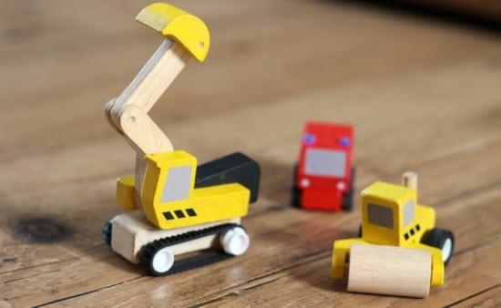 plan city wooden vehicles