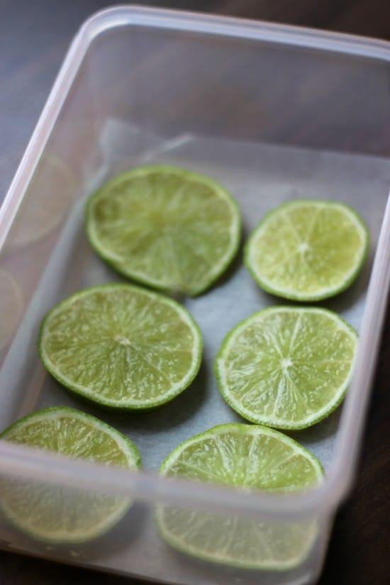 freezing limes