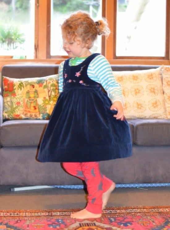 vintage kids dress