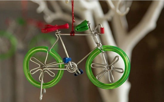 bike christmas decoration