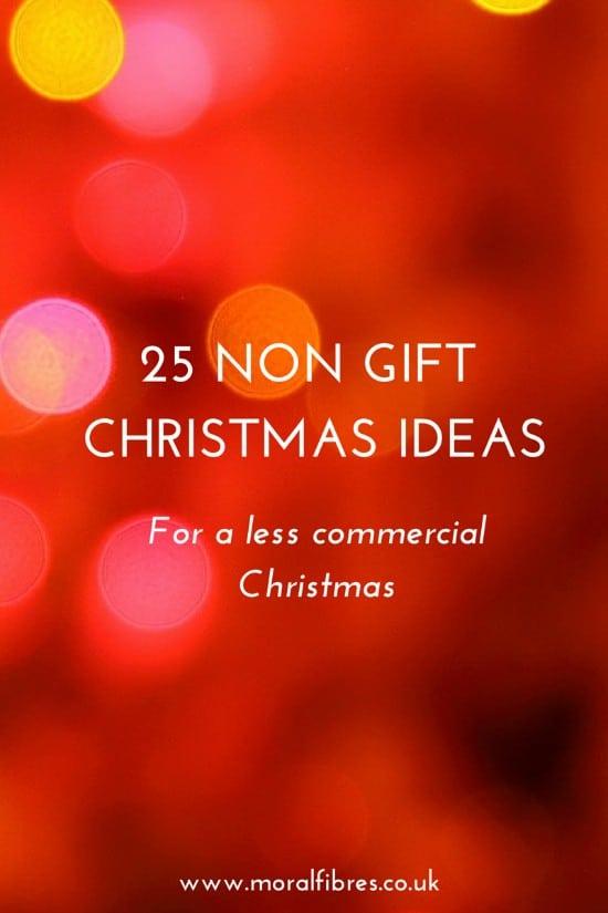 Non Gift Christmas Ideas Moral Fibres Uk Eco Green Blog