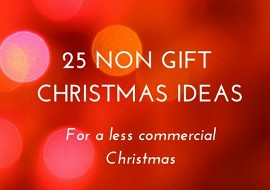 Non Gift Christmas Ideas