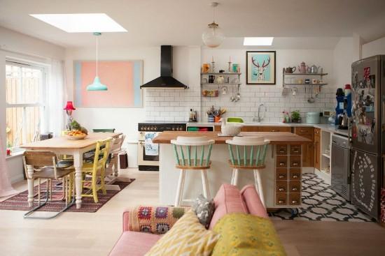 A Colourful Vintage Home Moral Fibres Uk Eco Green Blog