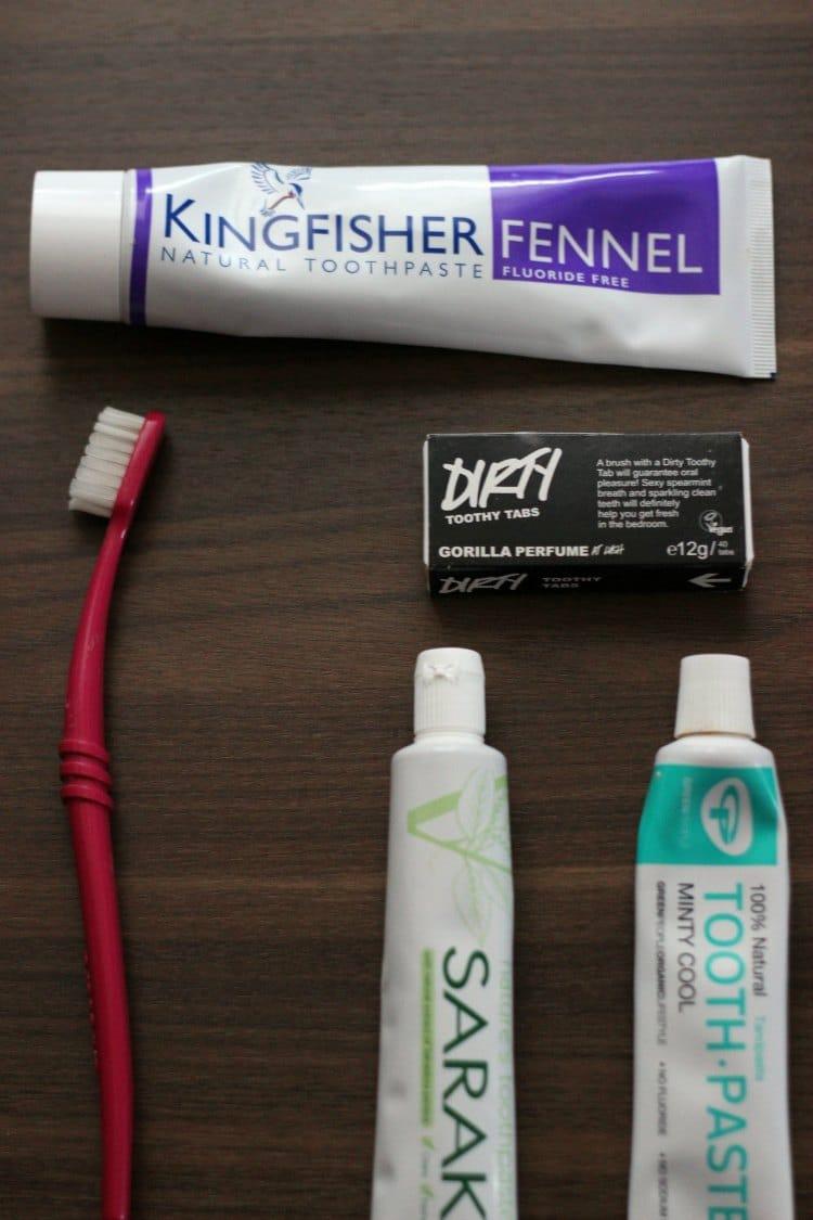 best fluoride free toothpaste