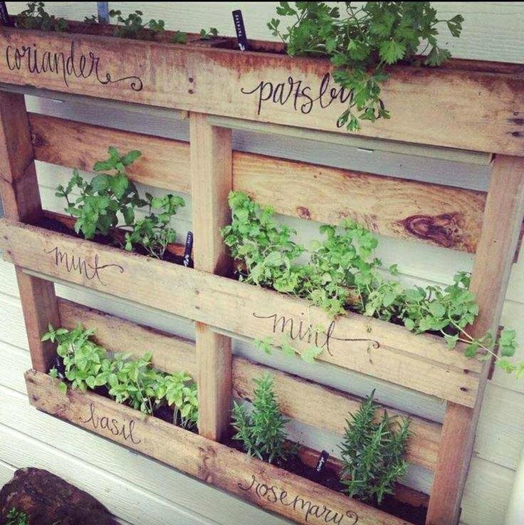 Green garden planning moral fibres uk eco green blog for Recycle pallets as garden planters