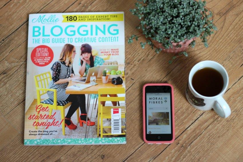 mollie makes blogging