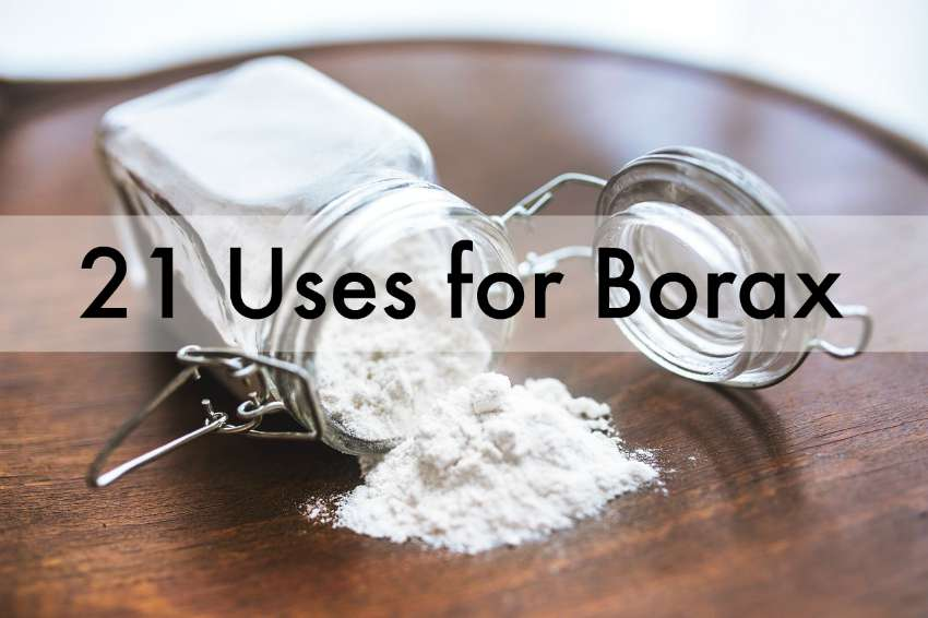 Uses For Borax Around The House Moral Fibres Uk Eco