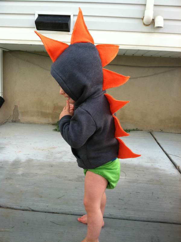 diy dinosaur halloween costume
