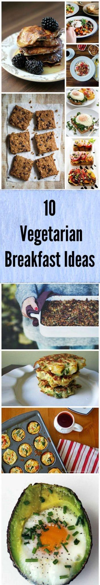 easy vegetarian breakfast ideas
