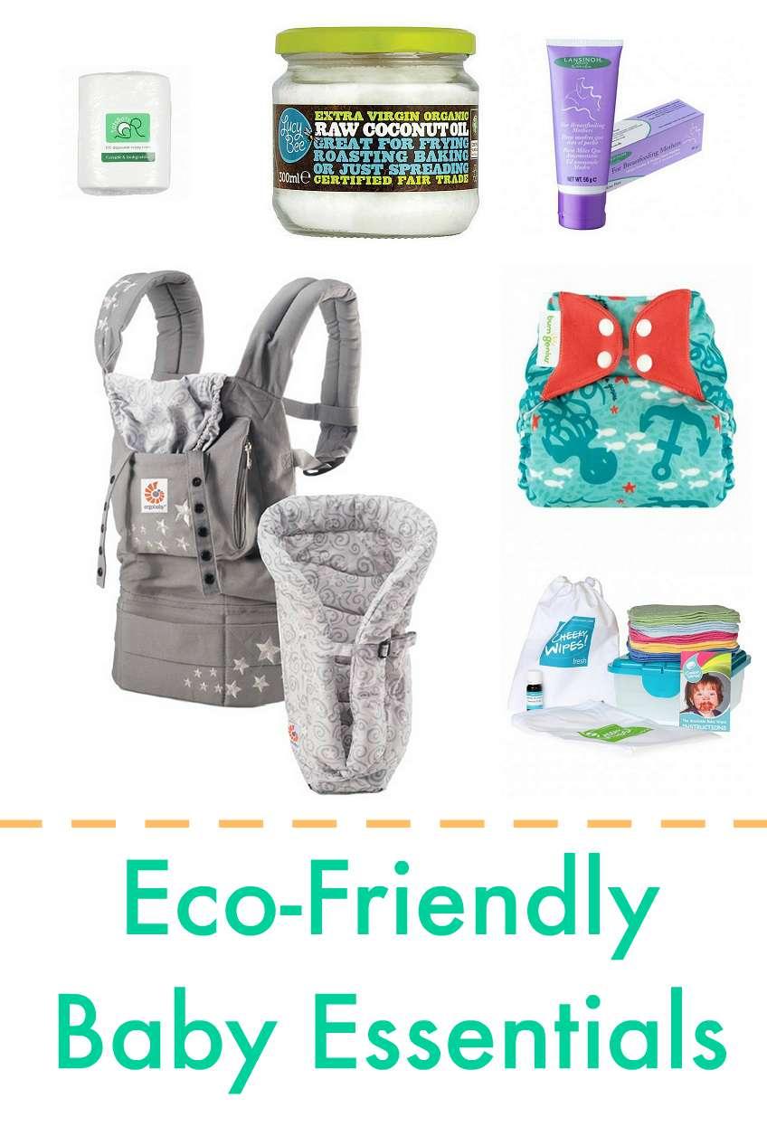 environmentally friendly baby essentials