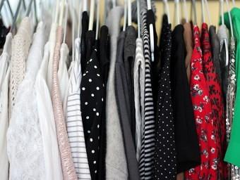 secondhand wardrobe