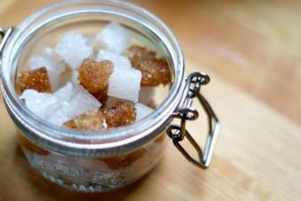 heart shaped sugar cubes diy
