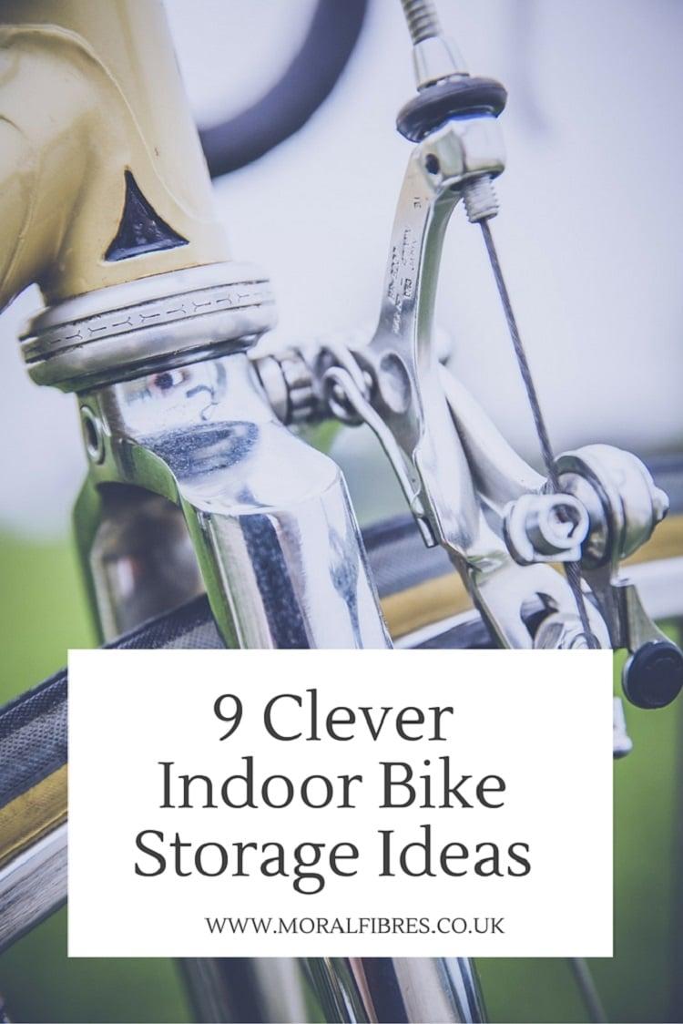 Clever Indoor Bike Storage Ideas Moral Fibres Uk Eco
