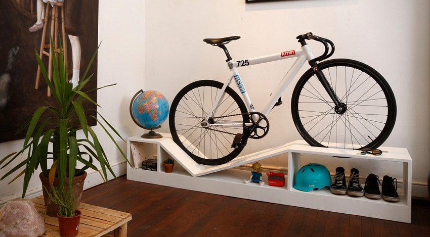 bike storage ideas clever indoor bike storage ideas moral fibres uk eco 13105