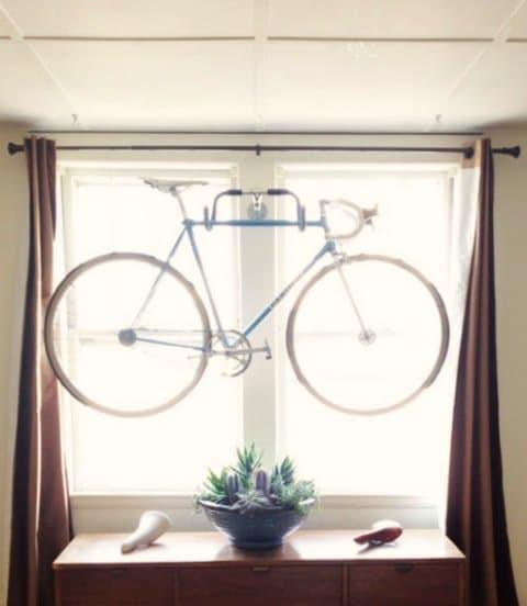 window bike storage