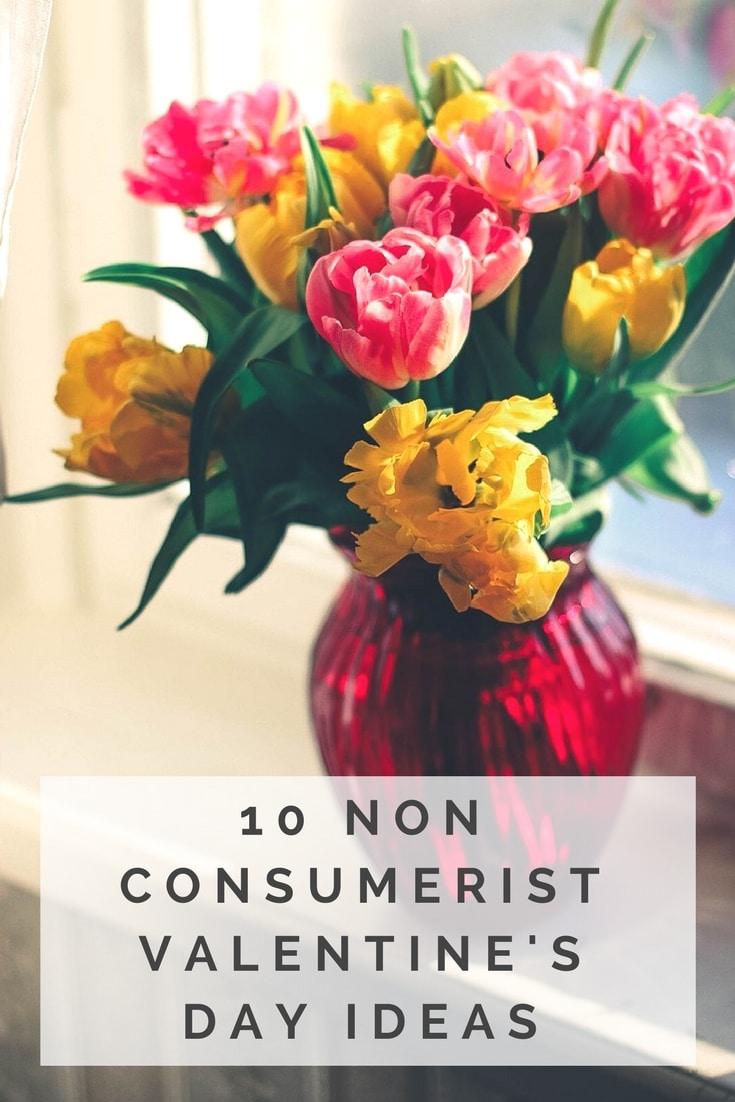 non consumerist eco-friendly valentine's day ideas