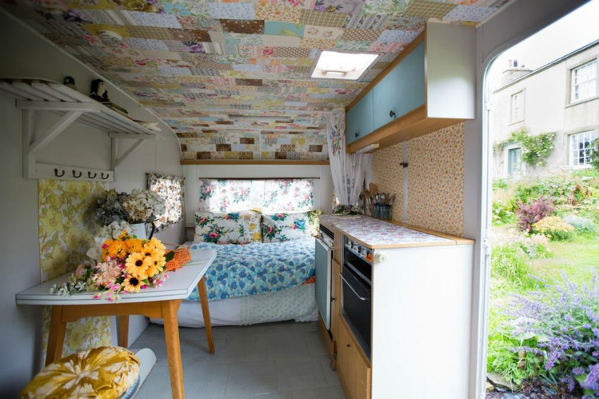 caravan renovation house tour