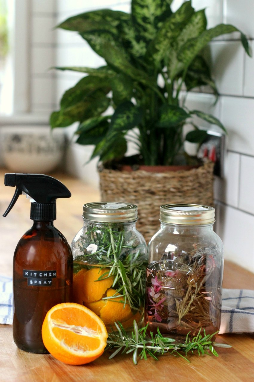 infused vinegar for cleaning