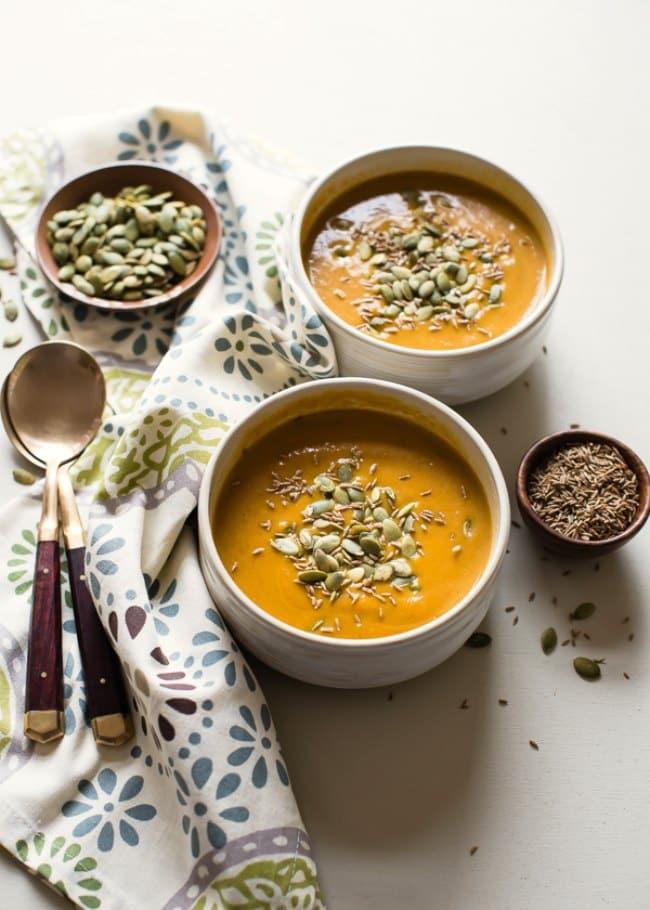 crockpot vegetarian soup
