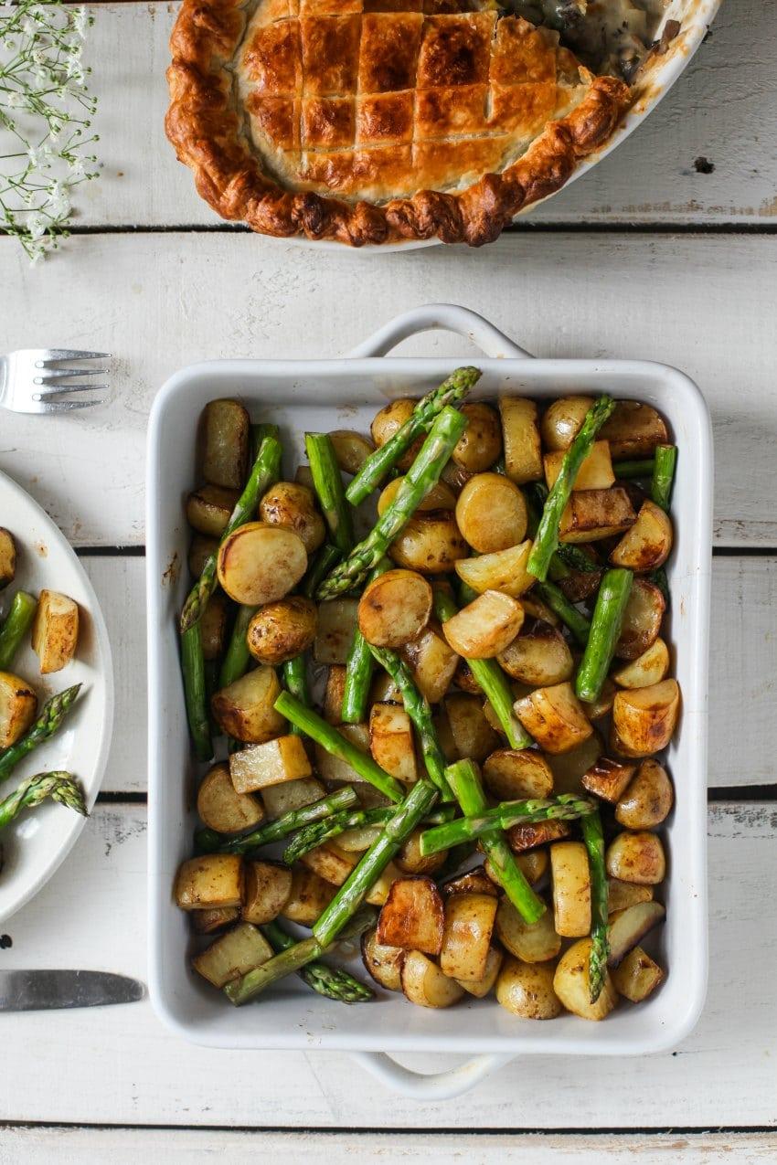 vegan roasted potatoes