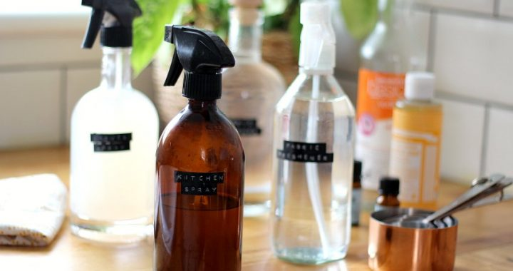 amber glass spray bottles for cleaning products
