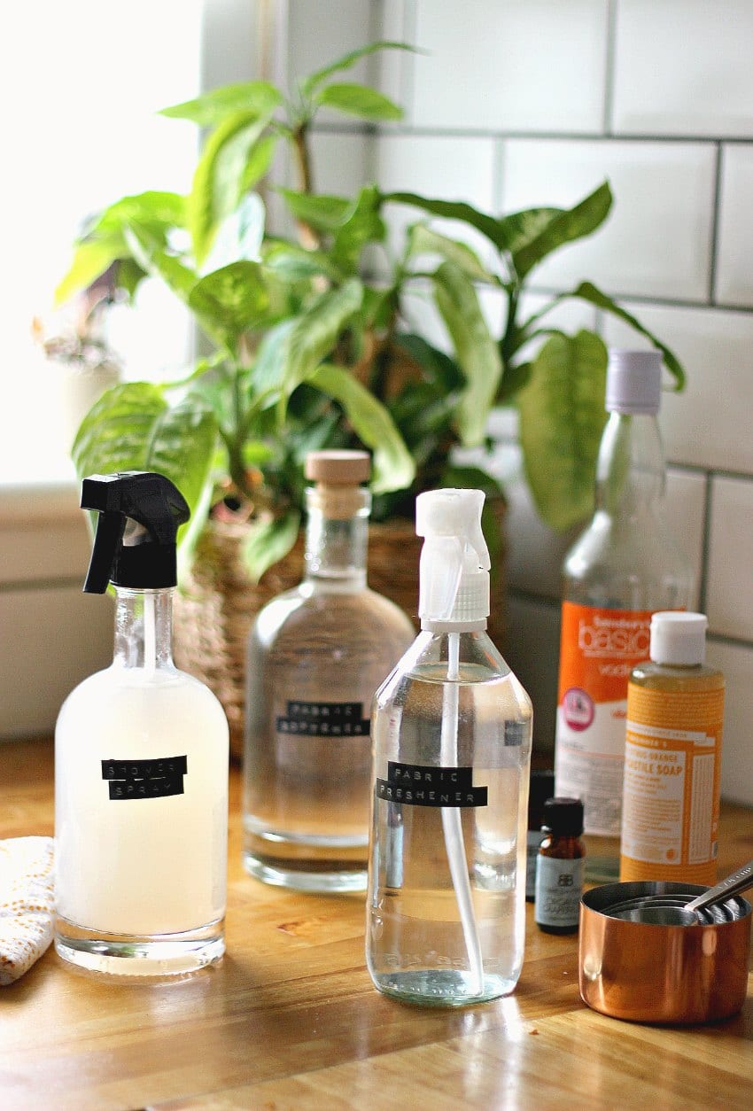 where to buy glass bottles for cleaning products