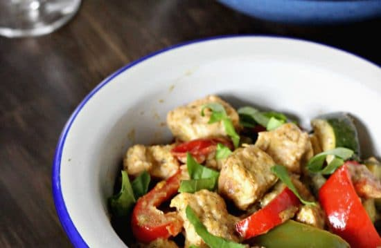 vegan Quorn recipe idea