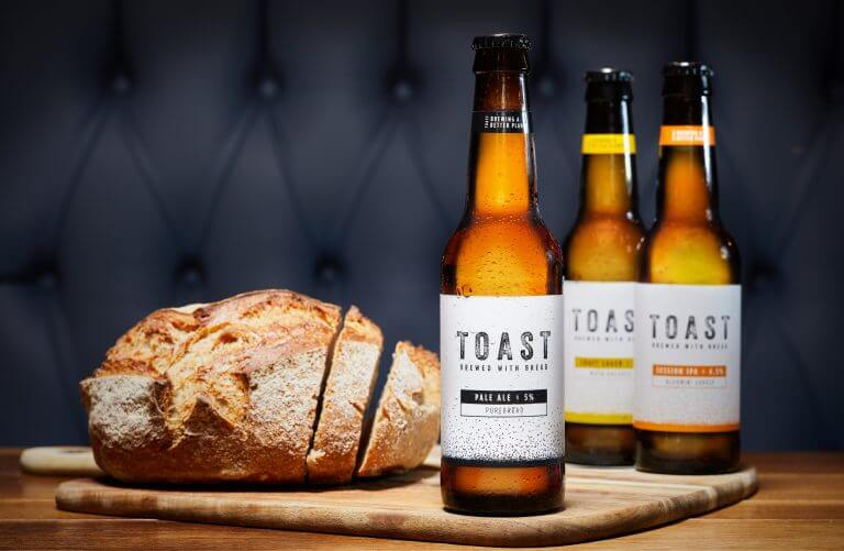 toast ale beer made from bread