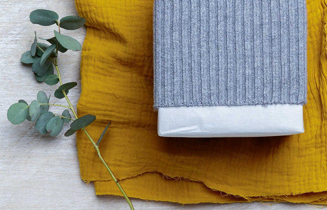eco friendly gift wrap idea