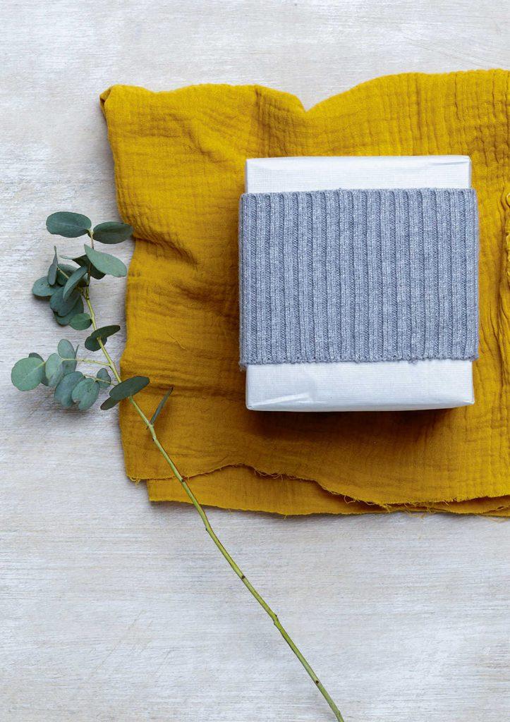 eco-friendly gift wrap idea