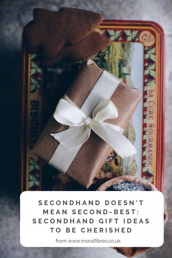 secondhand gifts ideas for christmas and birthdays