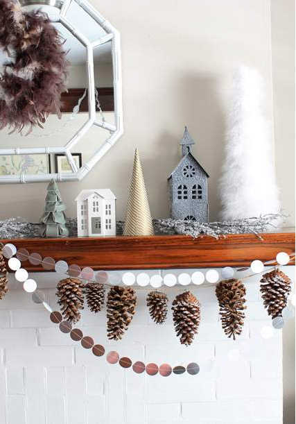 Sustainable Christmas decorations to make, using natural and compostable materials