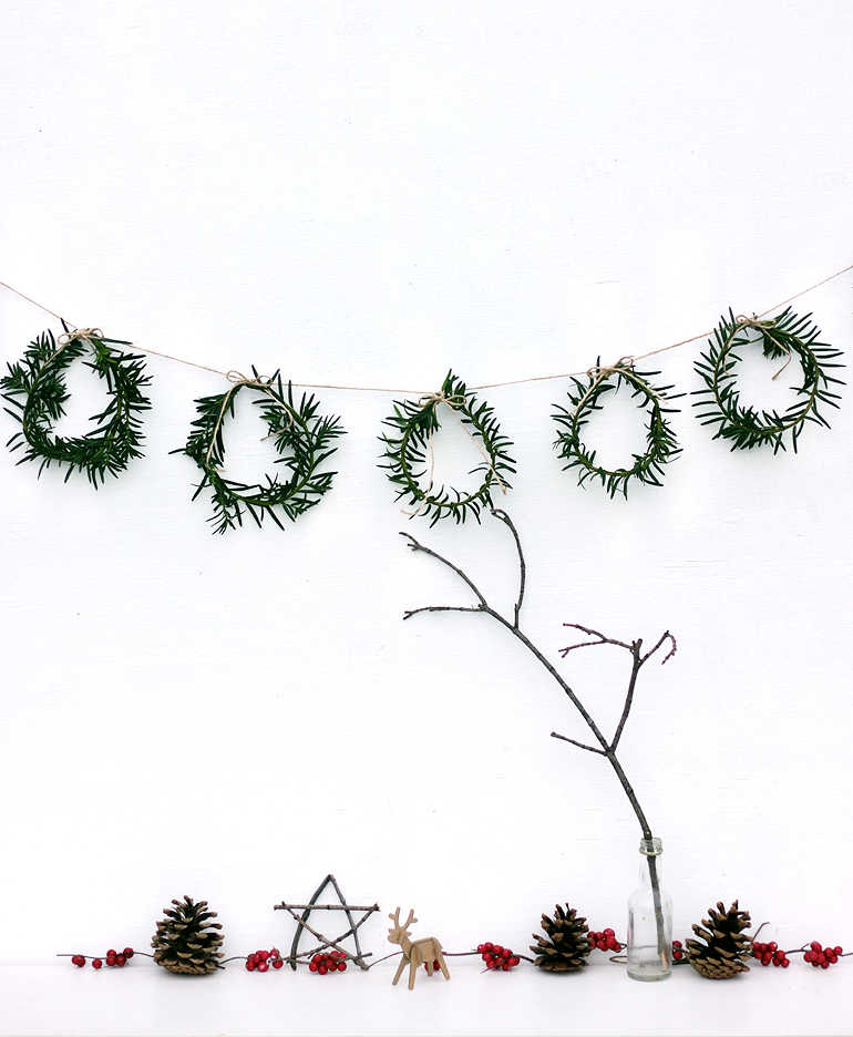 Eco-friendly Christmas decorations to DIY