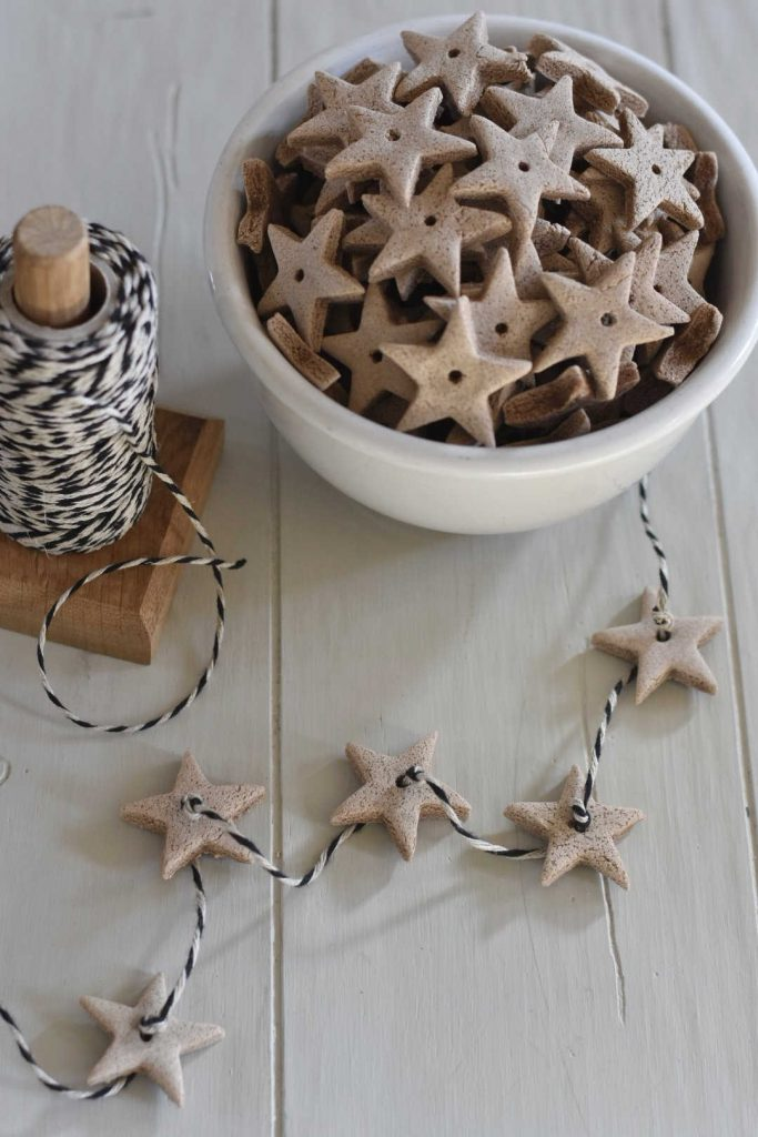 Homemade Salt dough decorations