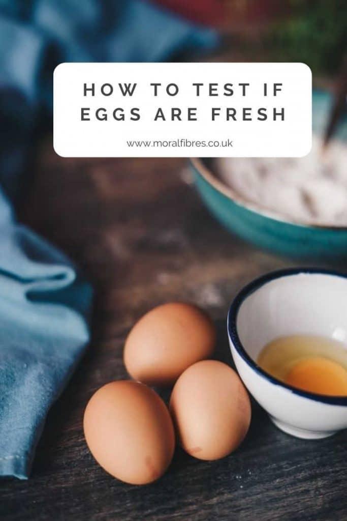 egg fresh test