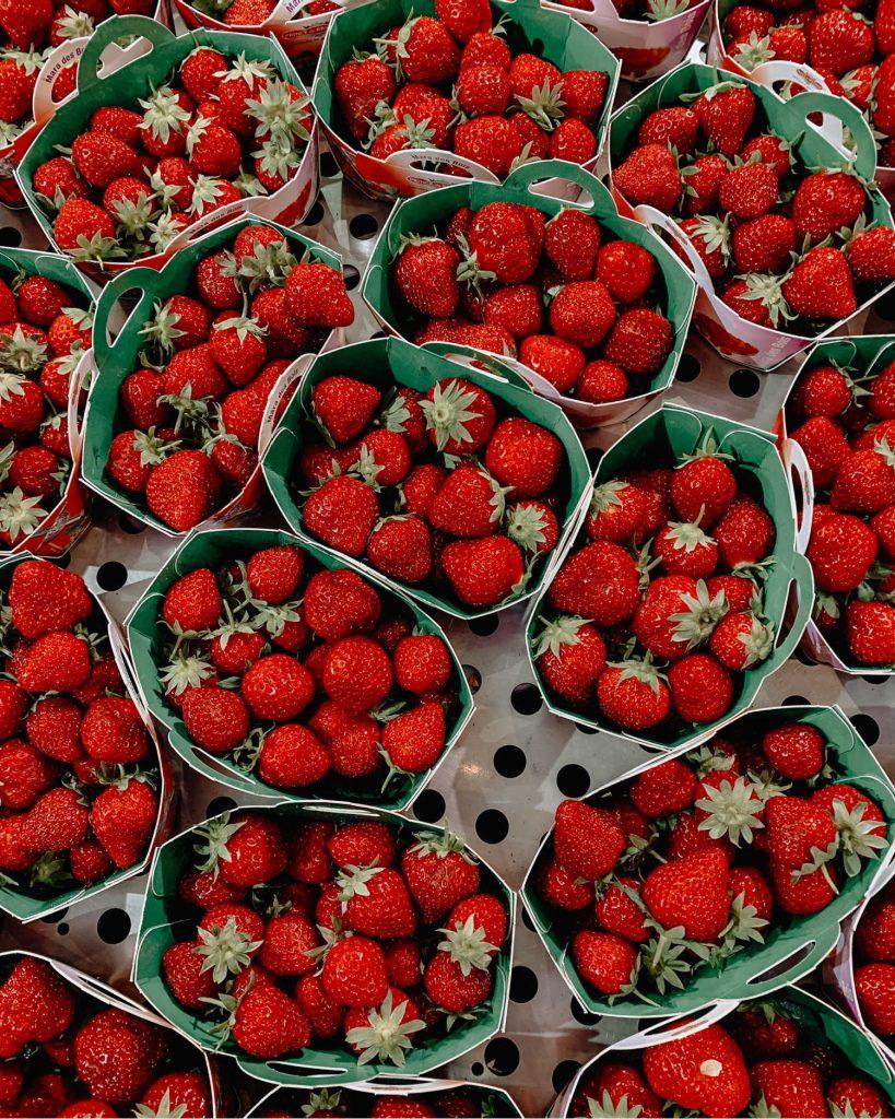 fruit and vegetables in season in June uk
