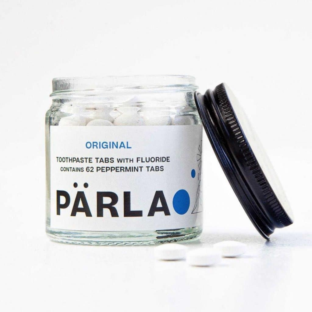 Parla zero-waste toothpaste tablets