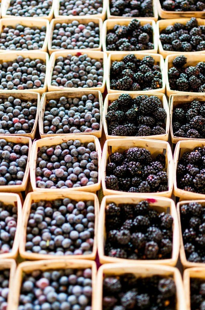 fruit and vegetables in season in september