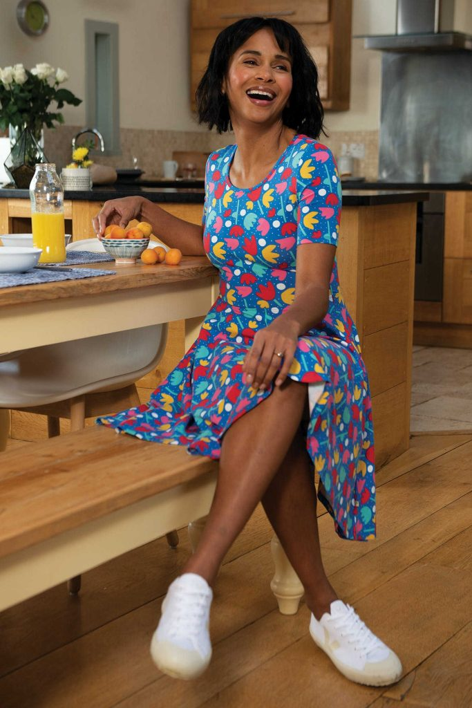 ethical dress from frugi