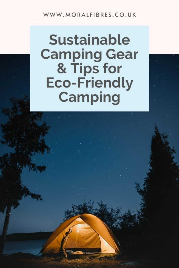 Eco-friendly camping advice
