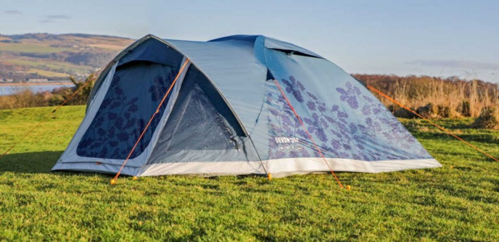 Vango recycled tent - part of my guide to sustainable camping gear