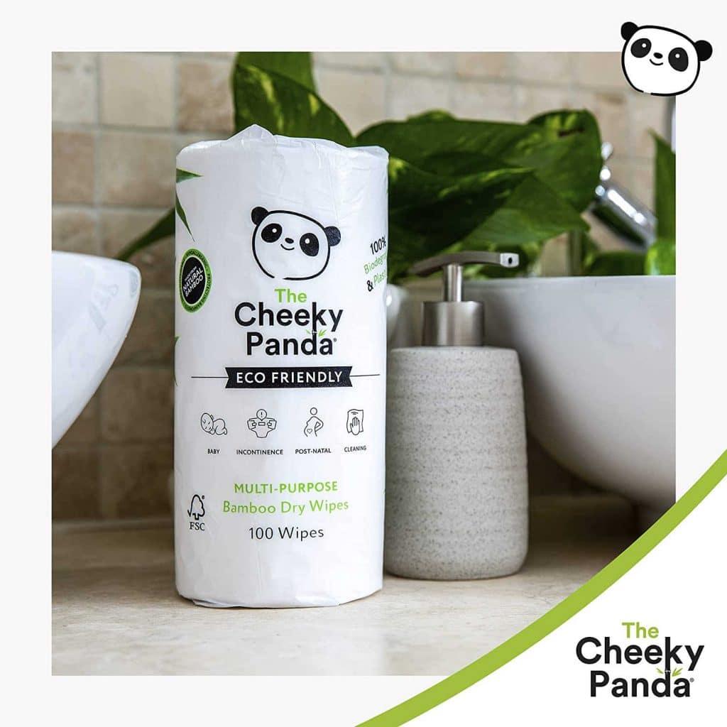 Cheeky panda baby wipes