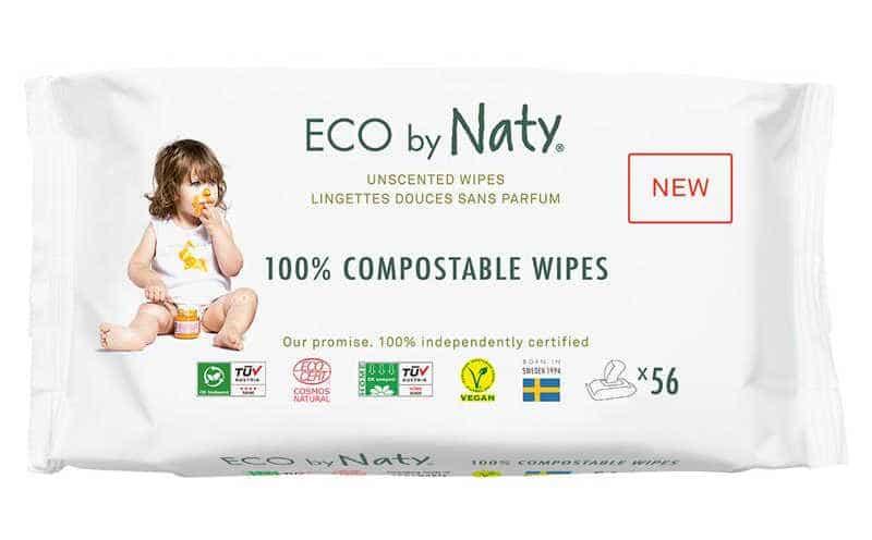 plastic-free baby wipes